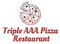 Triple AAA Pizza Restaurant logo