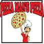 Pizza Man's Pizza logo