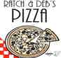 Ratch & Deb's Pizza logo