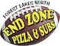 Endzone Pizza logo