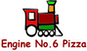 Engine no 6 Pizza logo
