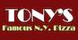Tony's Famous New York Pizza logo