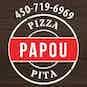 Papou's Pizza logo