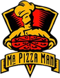 Mr. Pizza Man logo