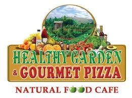 Healthy Garden & Gourmet Pizza logo