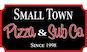 Small Town Pizza & Sub  logo