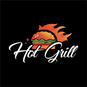 Hot Grill & Pizza logo
