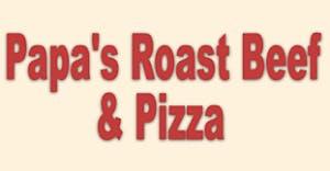 Papa's Roast Beef & Pizza