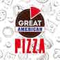 Great American Pizzeria logo