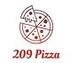 209 Pizza logo