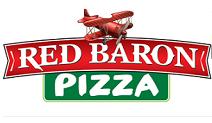 Red Baron Pizza  logo