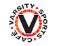 Varsity Sports Cafe & Roman Coin Pizza logo