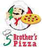 5 Brother's Pizza logo