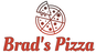 Brad's Pizza logo