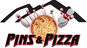 Pins & Pizza logo