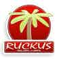 Ruckus Pizza logo