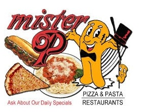 Mr P Pizza & Pasta logo
