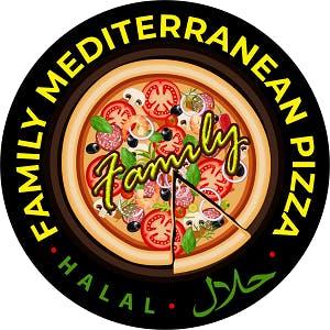 Family Mediterranean Pizza