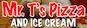 Mr T's Pizza & Ice Cream logo