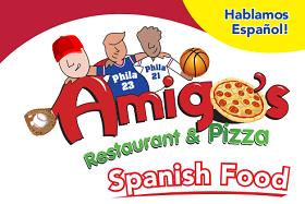Amigos Restaurant & Pizza logo