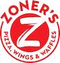 Zoner's Pizza Wings Waffles logo