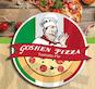 Goshen Pizza Tomato Pie logo