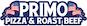 Primo Pizza & Roast Beef logo