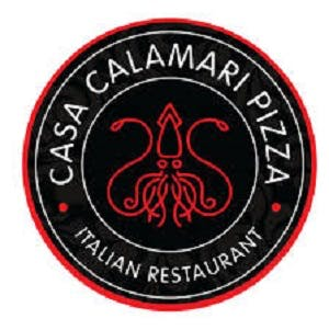 Casa Calamari Pizza