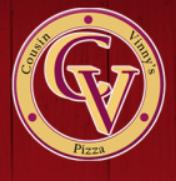 Cousin Vinny's Pizza logo