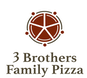 3 Brother's Family Pizza logo
