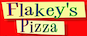 Flakey's Pizza logo