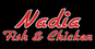 Nadia Fish & Chicken logo