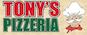 Tony's Famous Pizzeria logo