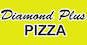 Diamond Plus Pizza logo