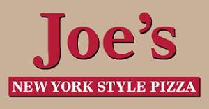 Joe's New York Style Pizza