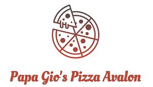 Papa Gio's Pizza Avalon logo