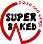 Super Baked Pizza & Wings logo