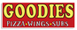 Goodies Pizza Wings & Subs logo