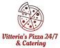 Vittoria's Pizza 24/7 & Catering logo