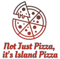 Not Just Pizza, it's Island Pizza logo