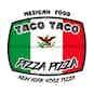 Taco Taco Pizza Pizza logo