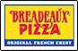 Breadeaux Pizza logo