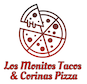 Los Monitos Tacos & Corinas Pizza logo