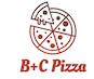 B+C Pizza logo