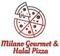 Milano Gourmet & Halal Pizza logo