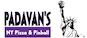 Padavan's NY Pizza & Pinball logo