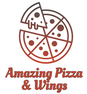 Amazing Pizza & Wings logo