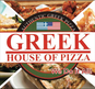 Greek House of Pizza logo