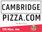 Cambridge Pizza logo