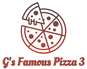 G's Famous Pizza 3 logo